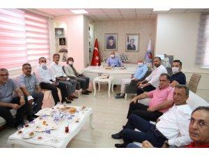 MTSO Yerel Yönetimler Çalışma Grubu, ilçe belediye başkanlarını ziyaret etti