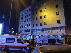 Esenler'de hastane yangını