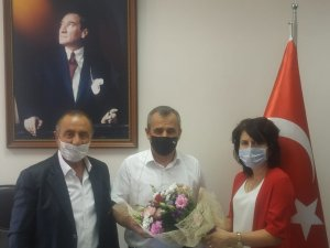 MHP Aliağa İlçe Teşkilatından Başhekim Koçyiğit'e ziyaret