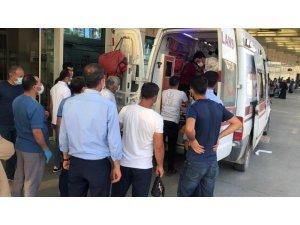 Siirt'te balkondan düşen çocuk yaralandı