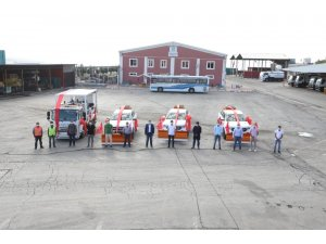 Melikgazi Belediyesi araç filosunu daha da güçlendirdi