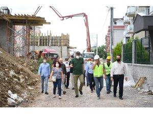 Başkan Kocaman, Ataevler Köprüsü'nde inceledi