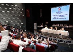 Denizli Büyükşehirde pandemi sonrası ilk meclis toplantısı