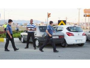 Burhaniye'de kaza: 1 yaralı