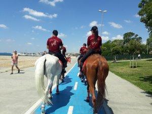 Yeşilköy Sahili atlı birliklere emanet