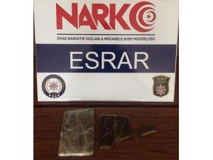 Sivas'ta narkotik operasyonları