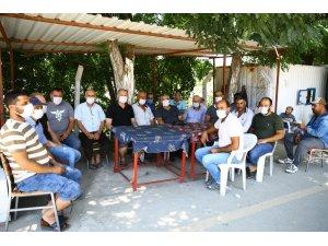 Bamya üreticisinin imdadına Aydın Büyükşehir Belediyesi yetişti