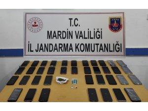 Mardin'de uyuşturucu ve kaçakçılık operasyonu