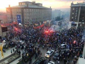 Erzurum'da Süper Lig sevinci