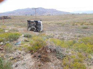 Doğubayazıt'ta trafik kazası; 3 yaralı