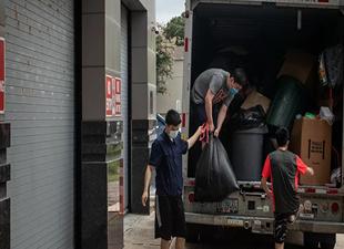 Çinli diplomatlar Houston'daki başkonsolosluk binasını boşalttı