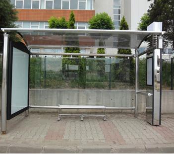 Otobüs duraklarına 'cemaat' ayarı