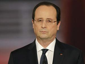François Hollande'den 'vakitsiz' ziyaret