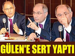 Efkan Ala, Fethullah Gülen'e sert yaptı
