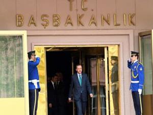 Başbakanlık  binasinda güvenlik önlemleri