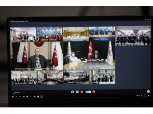 Cumhurbaşkanı Erdoğan: Memduh Bey'e teşekkür ediyorum