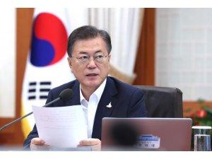 Güney Kore Devlet Başkanı Moon, sel felaketi nedeniyle yaz tatilini iptal etti