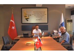 Eski milletvekili Postacı, Başkan Günel'i ziyaret etti