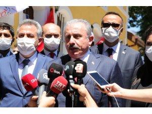 """TBMM Başkanı Şentop: """"Lübnan'dan herhangi bir yardım isteği gelmedi"""""""