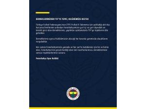 Fenerbahçe'den derneklere teşekkür
