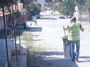 Sungurlu Belediye'sinden temizlik seferberliği