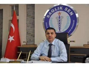 Sağlık-Sen Gaziantep Şube Başkanı Mehmet Ali Arayıcı: