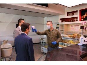 Ürgüp'te korona virüs tedbirleri kontrol edildi