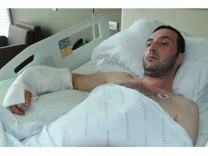 Fabrika işçisinin iş kazasında kopan kolu 12.5 saatte yerine dikildi