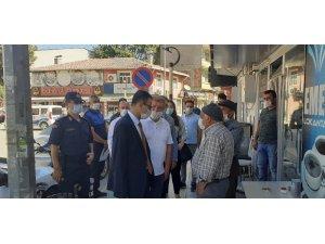 Osmancık'ta kornavirüs denetimi yapıldı