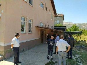 Isparta'nın Uluborlu ilçesinde 4 bina karantinaya alındı