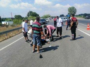 Çanakkale'de cipin çarptığı ATV sürücüsü yaralandı