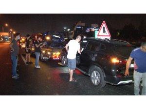 Bahçelievler basın ekspres yolunda trafik kazası:2 yaralı