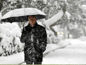 Sarıkamış'da kar yağışı