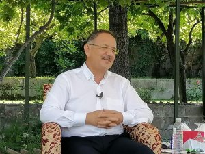 """AK Parti Genel Başkan Yardımcısı Mehmet Özhaseki: """"Projeleri takip ediyorum"""""""