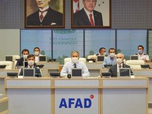 """Vali Yerlikaya, """"İl ve İlçe Filyasyon Kurulları"""" toplantısından fotoğraf paylaştı"""
