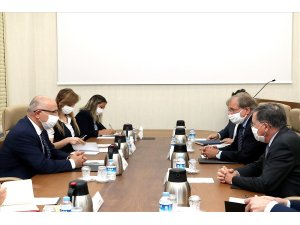 Millî Savunma Bakan Yardımcısı Karaosmanoğlu, ABD'nin Libya ve Ankara Büyükelçilerini kabul etti
