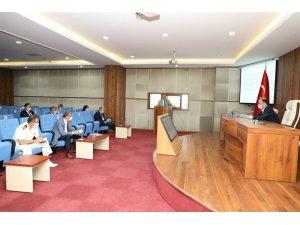 Bartın'da Pandemi İl Koordinasyon Kurulu toplandı