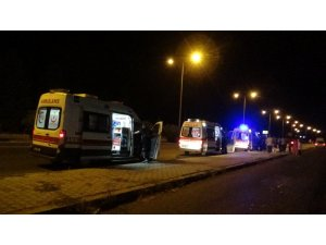 Diyarbakır'da trafik kazası: 2'si ağır 10 yaralı