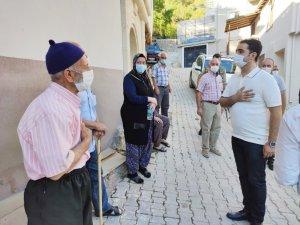 Kaymakam Güder köy ziyaretlerine başladı