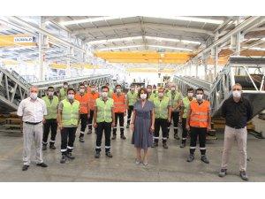 Genç mühendislere istihdam garantili eğitim projesi