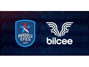 Anadolu Efes Spor Kulübü'nün forma sponsoru Bilcee oldu
