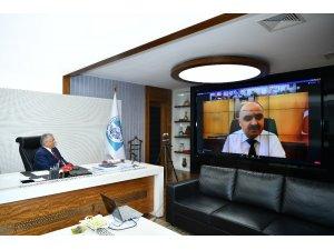 Başkan Büyükkılıç il pandemi kurulu toplantısına katıldı