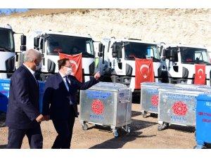 Karesi'ye 500 yeni çöp konteyneri