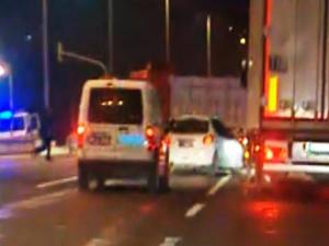 Başkent'te polis ile şüpheli şahıs kovalamacası