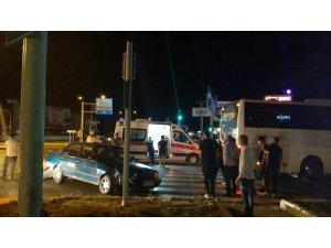 Çorum'da zincirleme trafik kazası: 2 yaralı