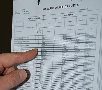 YSK'dan seçmen listeleriyle ilgili açıklama