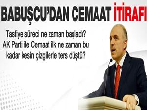 Aziz Babuşcu'dan 'Cemaat tasfiyesi' itirafı
