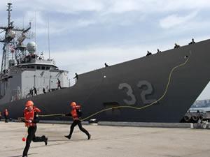 '2 ABD savaş gemisi Karadeniz'de'