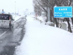 Kars eksi 35'i gördü