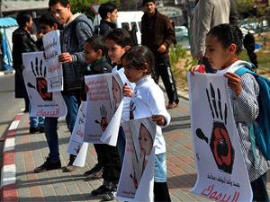 Gazze'de Yermuk'taki büyük dram protesto edildi